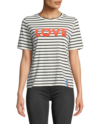The Modern Love Striped Crewneck Tee