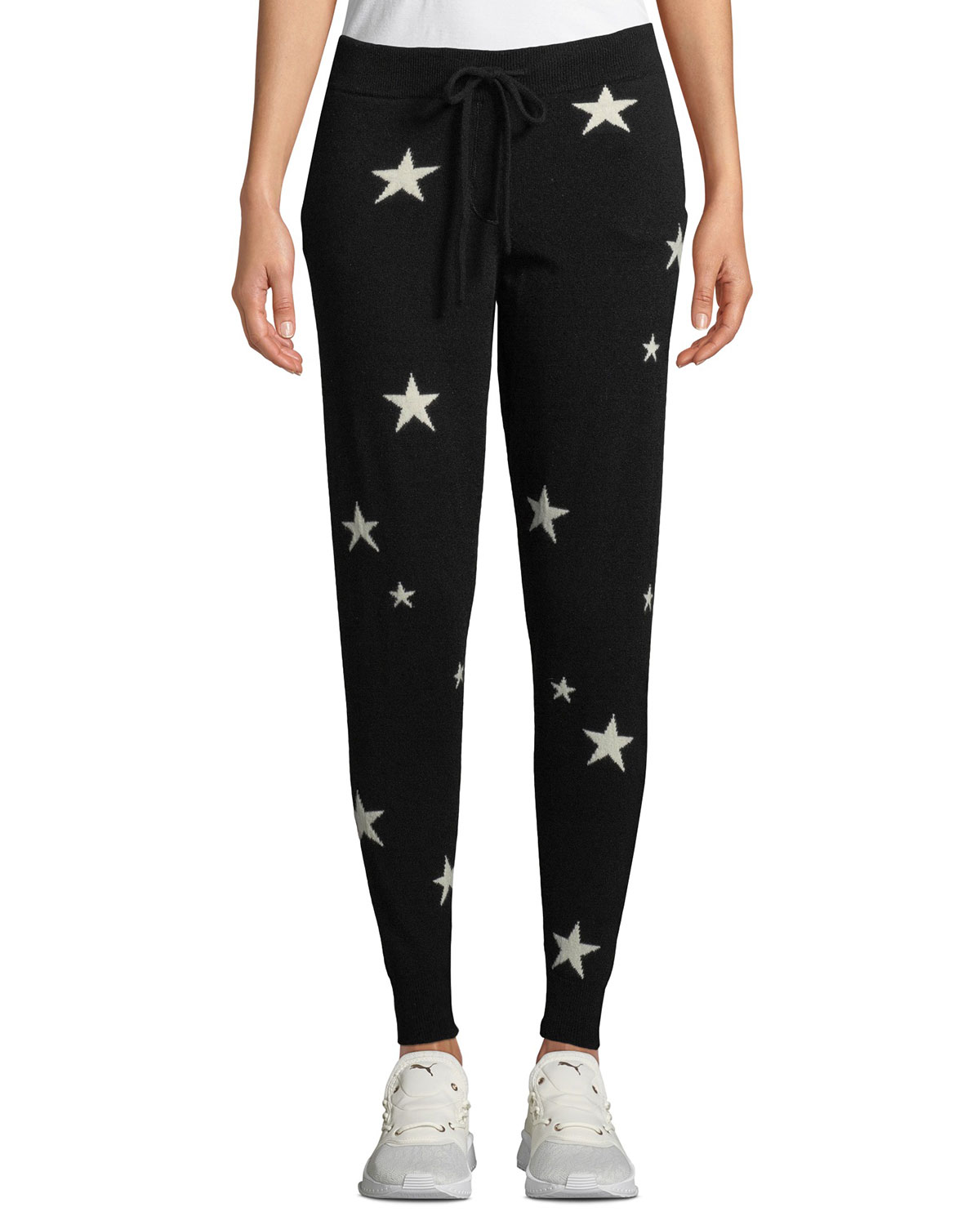 1a14892cb0 Chinti And Parker Star-Intarsia Cashmere Track Pants