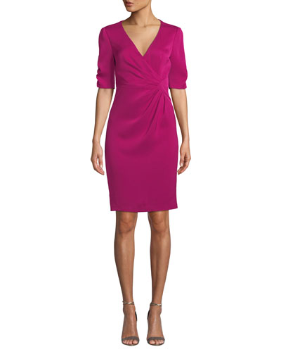 Nanette Lepore Carnival 3 4 Sleeve Sheath Dress