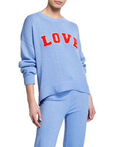 Performance Cashmere Love Sweater