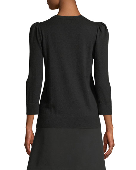 KATE SPADE Sweaters EMBELLISHED BOW SWEATER