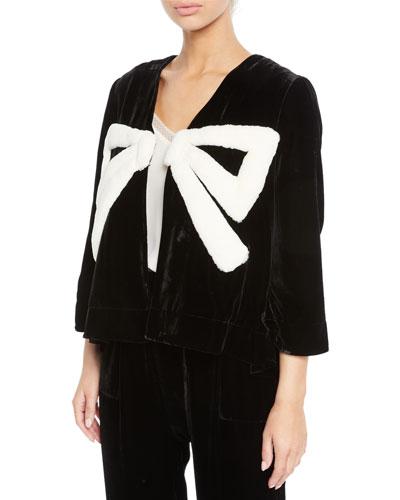 The Velvet Gala Jacket