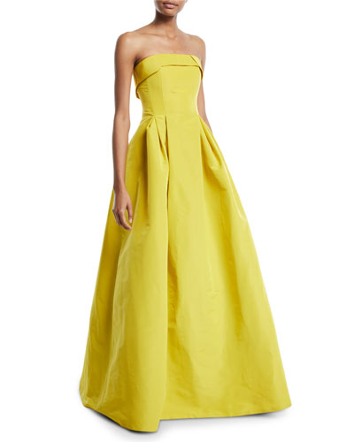 Rielle Strapless Ball Gown