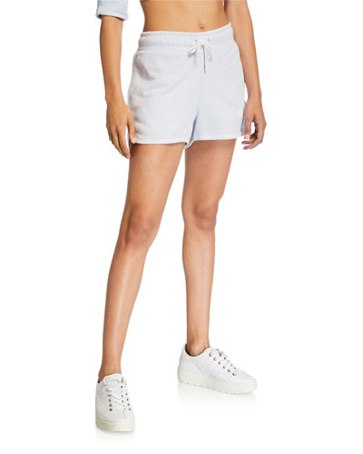 NSW Drawstring Cotton Shorts  Blue