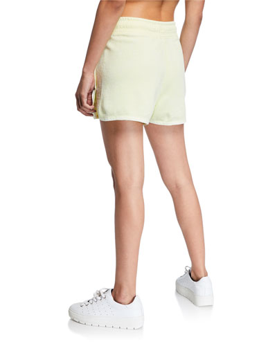 NSW Drawstring Cotton Shorts  Green