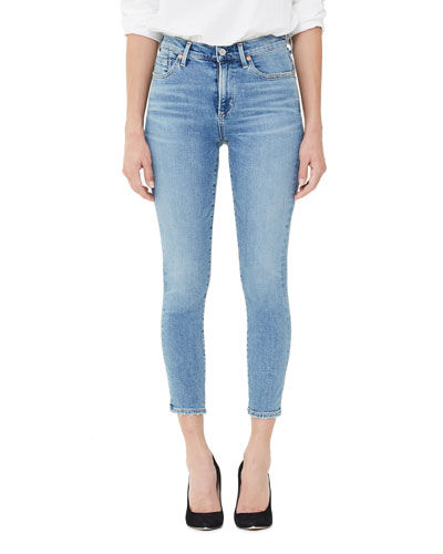 Rocket Crop High-Rise Skinny Jeans  Serenity