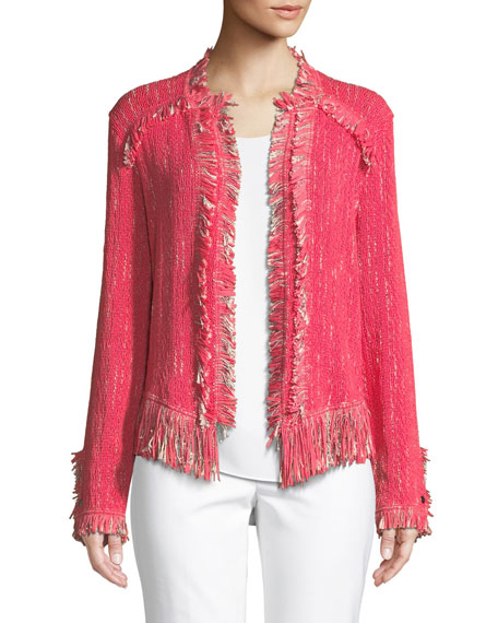 Petite Fancy Fringed Jacket
