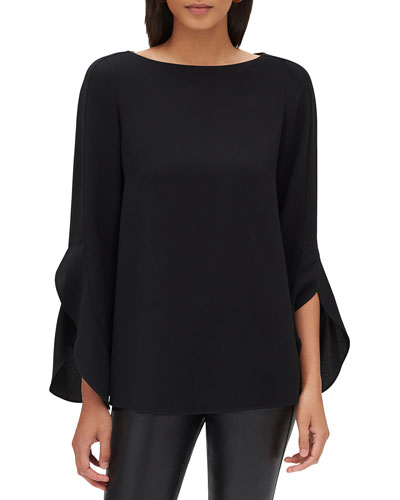 Emory Finesse Crepe Blouse, Plus Size