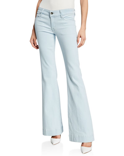 Lovestory Low-Rise Flare Jeans
