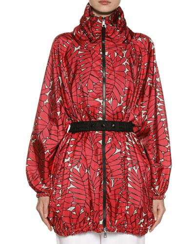 Berne Oversized Jacket w/ Belt