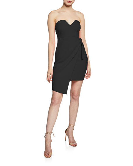 Likely WYNONNA STRAPLESS SIDE-TIE COCKTAIL DRESS