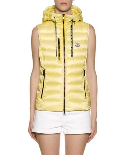 Sucrette Hooded Puffer Vest