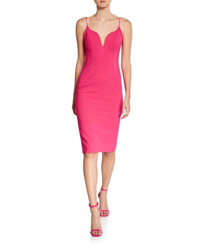Sweetheart Sleeveless Body-Con Dress