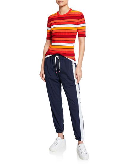 Parachute Pants w/Side Stripe