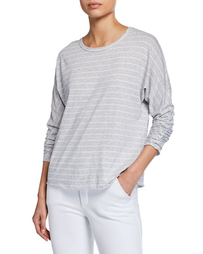 Continuous Long-Sleeve Striped Tee