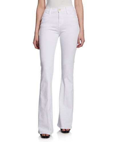 Le High Flare High-Rise Skinny Jeans