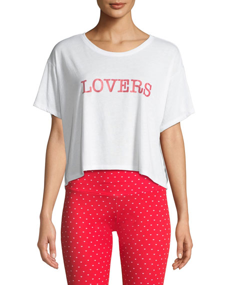 Onzie  LOVERS SHORT-SLEEVE BOX TEE