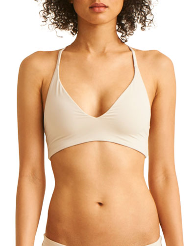 The Selby Racerback Bikini Swim Top