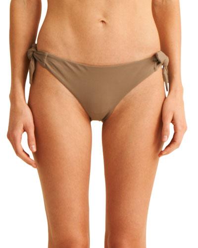 The Rosie Side-Tie Hipster Swim Bikini Bottoms