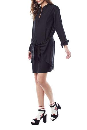 Loyal Hana Nursing Lucy Tie-Front Dress