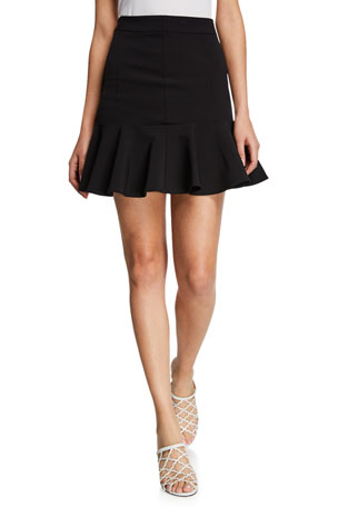 Veronica Beard Francesca Scuba Skirt
