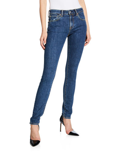 Scotton Mid-Rise Skinny-Fit Jeans