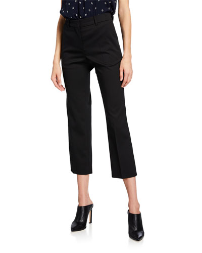 Bedmond Mid-Rise Cropped Pants