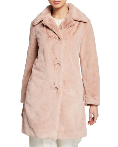 Tenbridge Faux-Fur Coat
