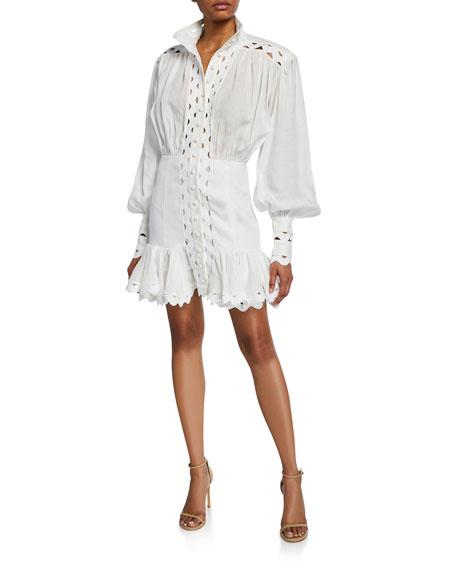 Zimmermann Dresses Ninety-Six Wave Linen Dress