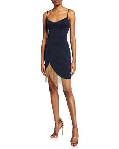 Nicole Chain Mini Dress