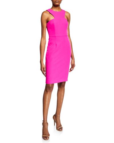 Delano Solid Smoothie Halter Dress