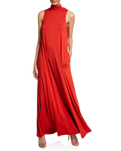 Plus Size Cait Turtleneck Maxi Dress