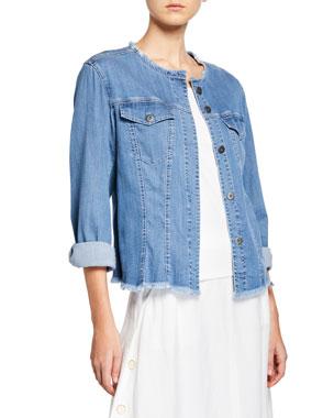 35181d5752b Plus Size Designer Jackets   Coats at Neiman Marcus
