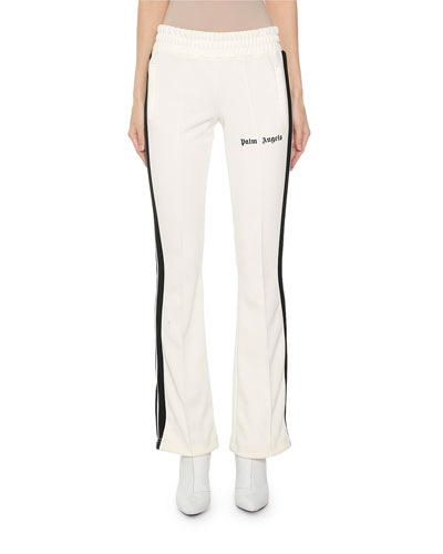 Side-Striped Skinny Logo Track Pants
