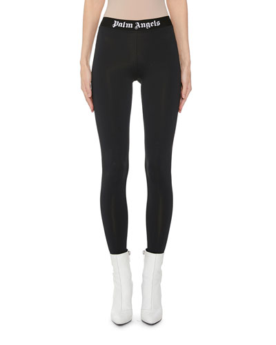 Logo-Print Sporty Leggings