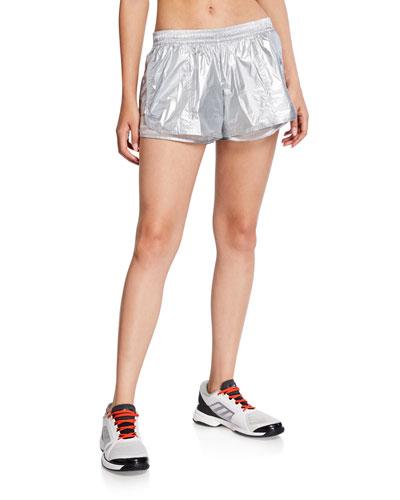 Metallic Running Shorts
