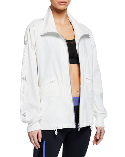 Performance Essentials Zip-Front Logo Active Jacket