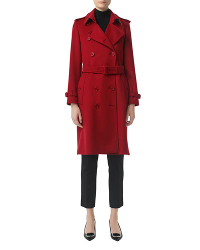 Kensington Cashmere Belted Trench Coat