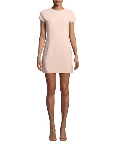 Alice Olivia Colin Crewneck Ed Dress