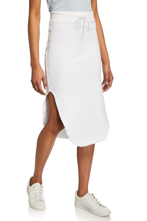 Frank & Eileen Tee Lab Long Fleece Pencil Skirt