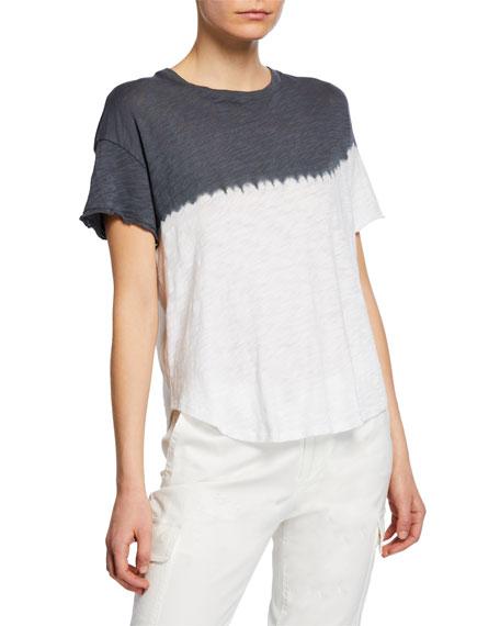 ATM Anthony Thomas Melillo Dip Dye Short-Sleeve Slub