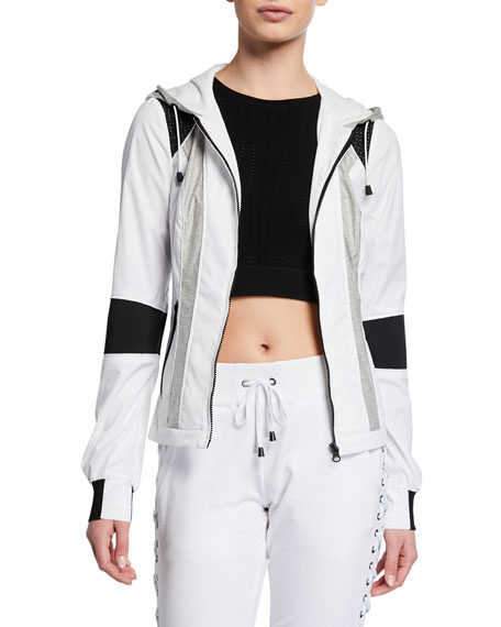 Blanc Noir Jackets MIRANI COLORBLOCK TRAINING JACKET