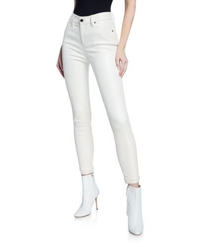 Madrid Leather Skinny Jeans