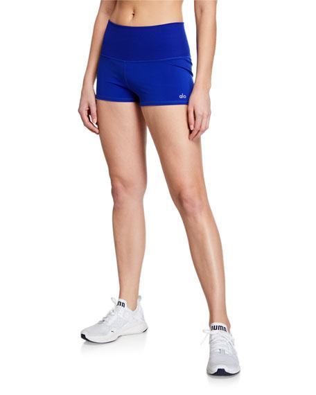 Alo Yoga Shorts AURORA RIBBED PERFORMANCE SHORTS