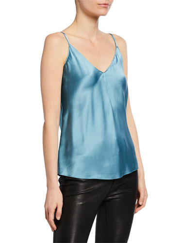 Gloria Silk V-Neck Cami