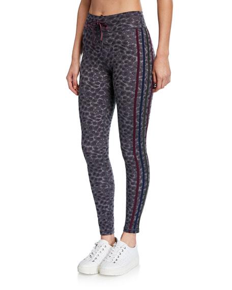 The Upside Pants SNOW LEOPARD PRINTED YOGA PANTS