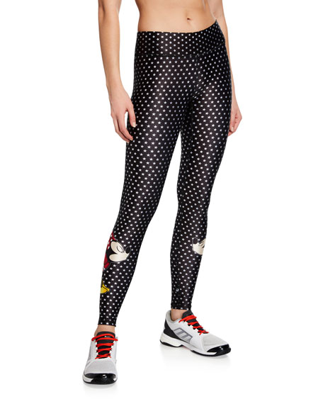 Terez MICKEY AND MINNIE MOUSE® TALL BAND STAR LEGGINGS
