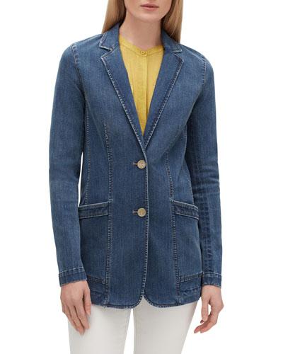 Boston Prestige Denim Two-Button Jacket