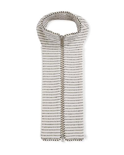 Bess Striped Tweed Dickey