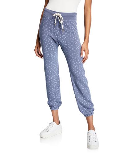 The Warm Up Printed Sweatpants
